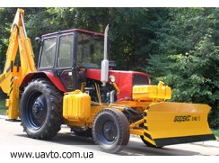 Экскаватор Борекс-2203  поворотный отвал,  база трактор МТЗ-82.1