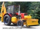 Борекс-2203  поворотный отвал,  база трактор МТЗ-82.1