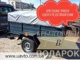 Прицеп Легковой прицеп Днепр Прицеп с колёсами по выгодной цене!