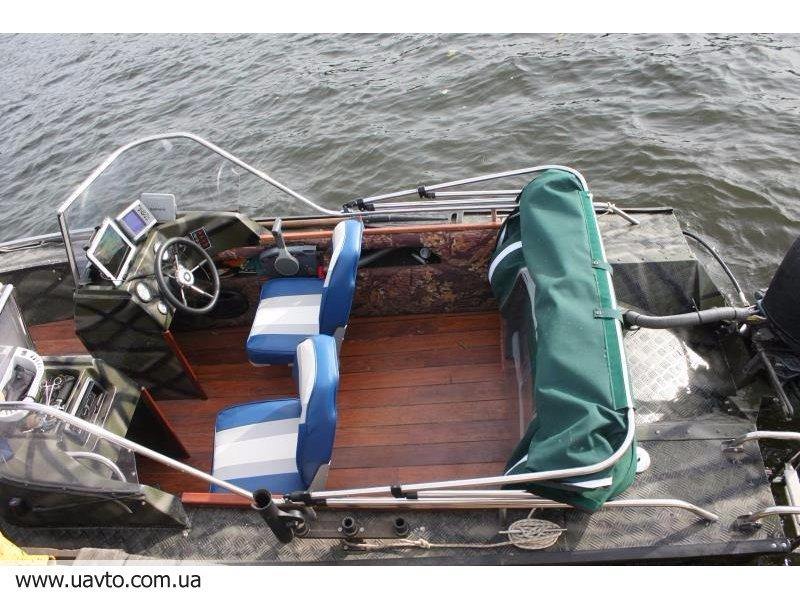 охота с дюралевой лодки