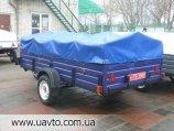 Прицеп Завод прицепов Лев прицеп Лев-300*1.6 одноосный и ещё 45 моделей от завода