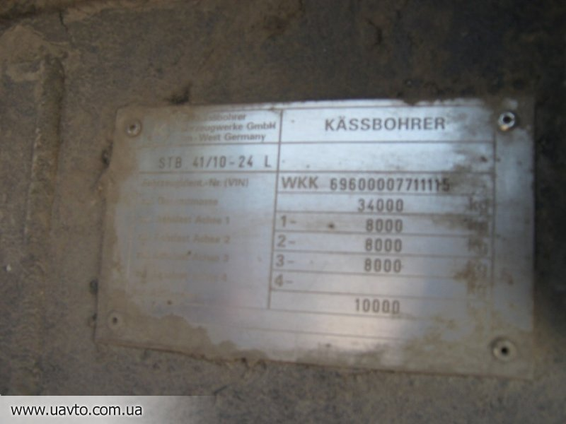 прицеп Kaessbohrer