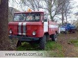 Пожарная машина ГАЗ 66
