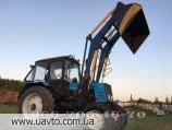 Погрузчик Быстросъёмный погрузчик Кун M-Technic1.6 на трактор МТЗ, ЮМЗ, Т-