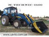 Быстросъёмный погрузчик Кун на трактор МТЗ, ЮМЗ, Т- M-Technic1600