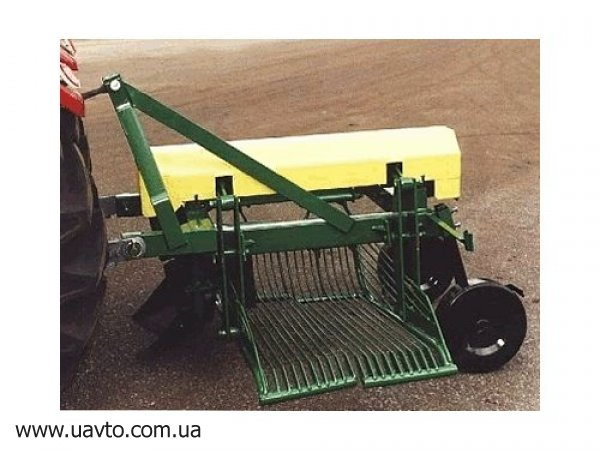 Картоплекопалка до трактора своими руками